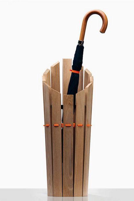 Лаконичный дизайн зонтницы.