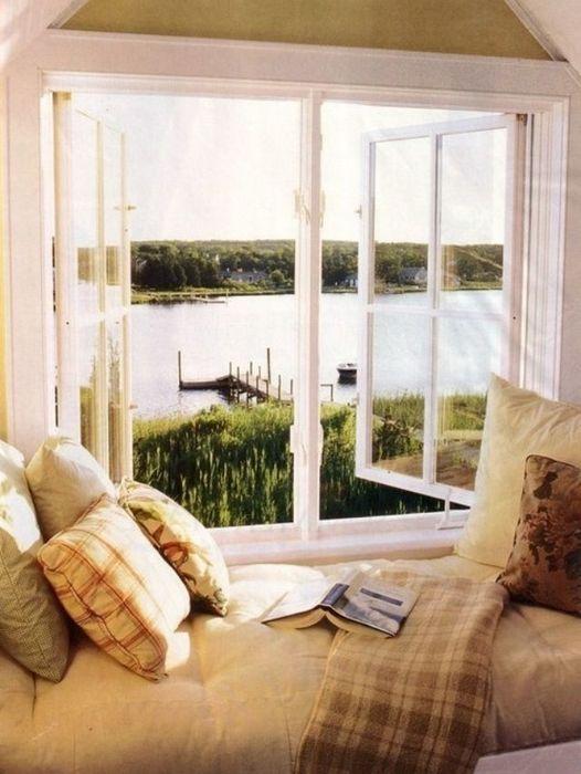 Уютное место для чтения.