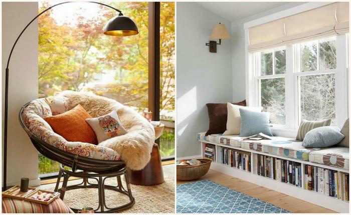 Идеи для создания самого уютного местечка в доме.