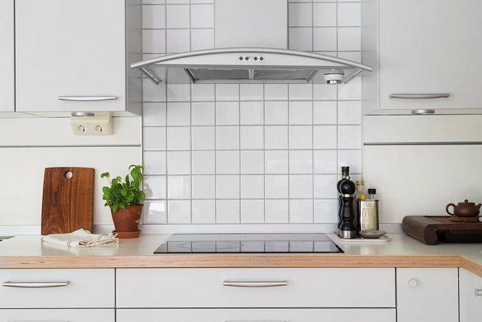 Стильный кухонный фартук.