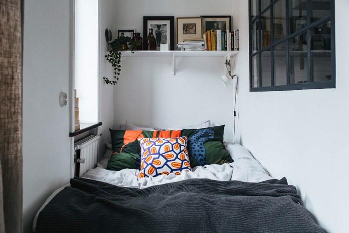 Уединённое спальное место.