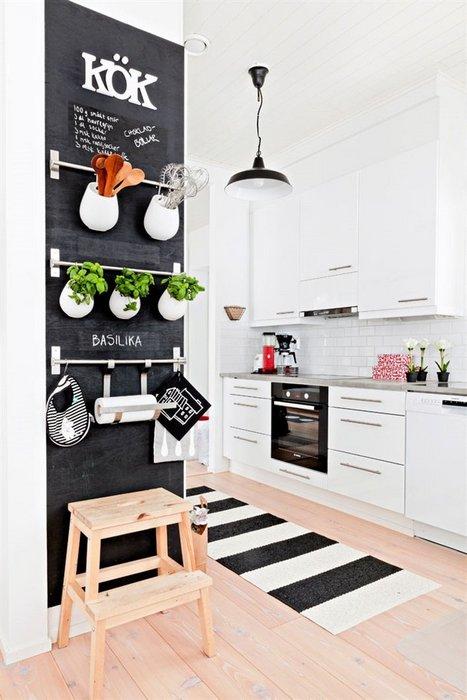 В скандинавской кухне есть место для стиля и уюта.