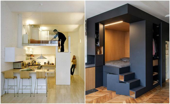 Идеи для квартиры-студии.