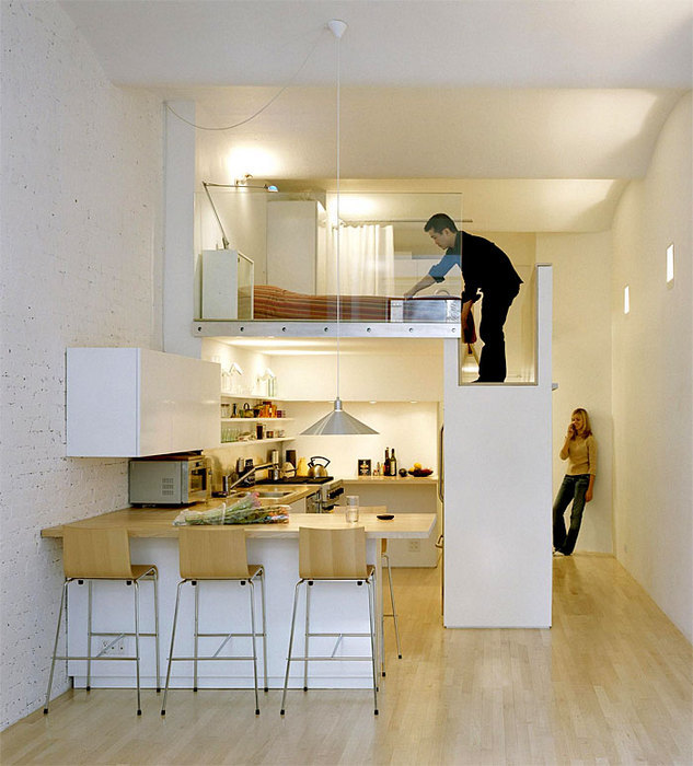 Высокие потолки: выживаем максимум полезной площади.