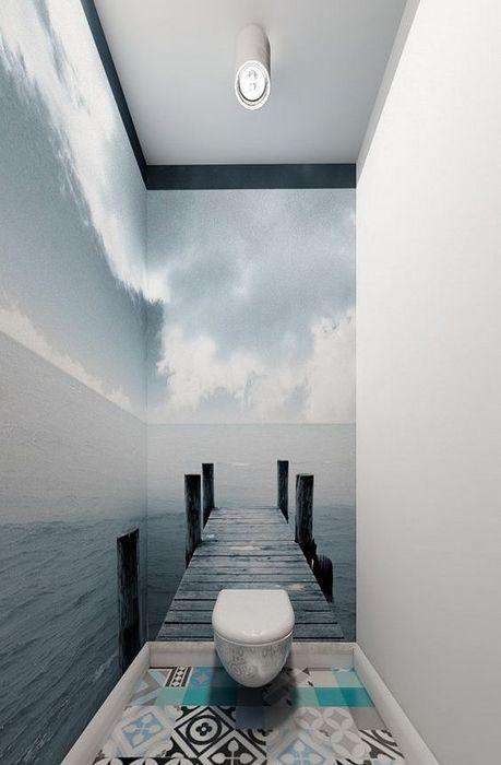 Визуальное расширение пространства.
