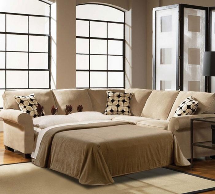 Выход есть всегда. Диван – удачная альтернатива кровати.