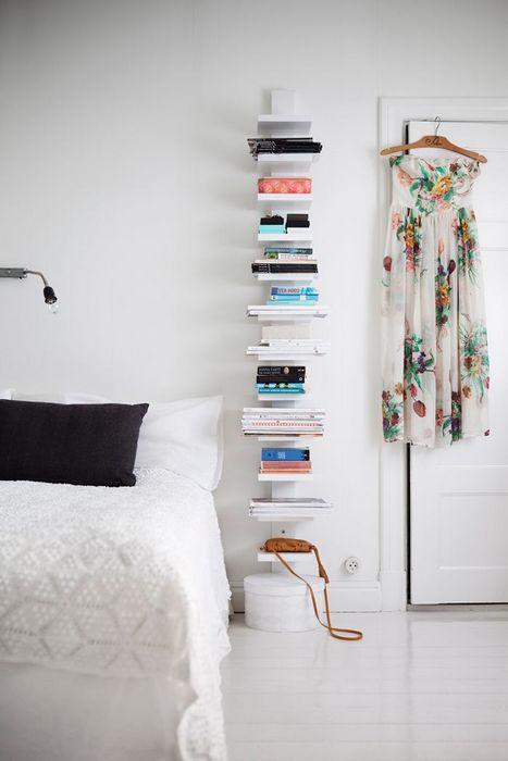 Интересный способ хранения книг.