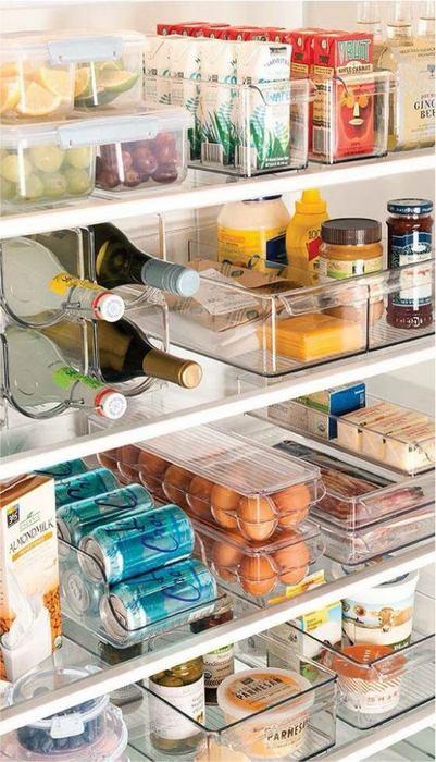 Когда в холодильнике полный порядок.