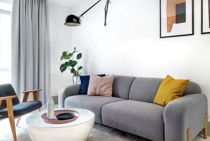 Декор маленькой квартиры.