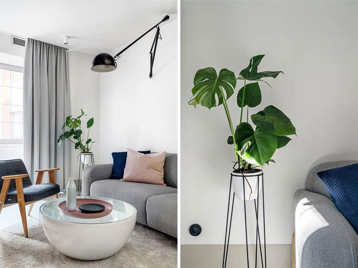 Стильный интерьер маленькой квартиры.
