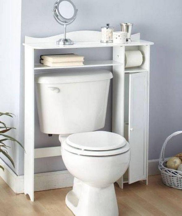 Комплексная система хранения для туалета.