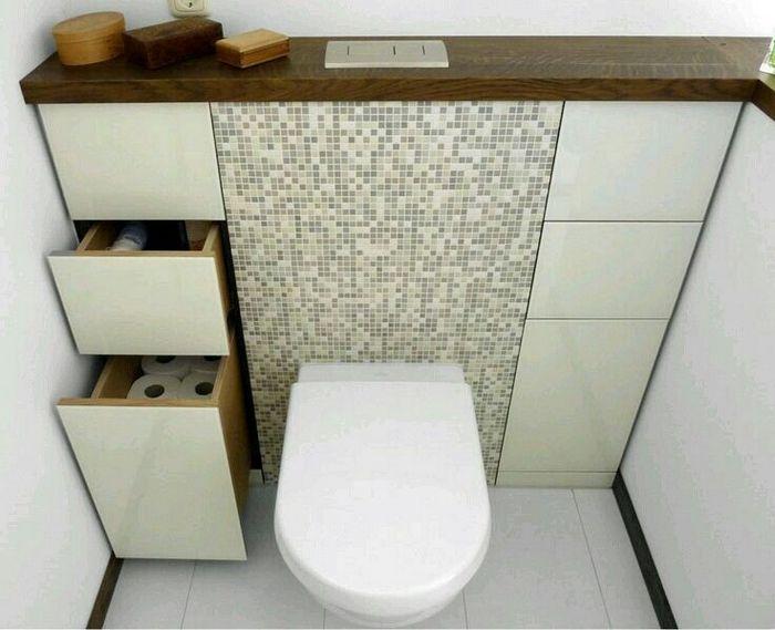 То, что нужно для маленького туалета.