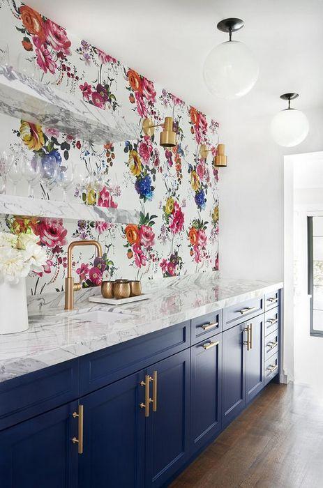 Стильный интерьер кухни.