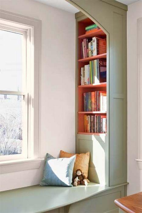 Уютное местечко для чтения.