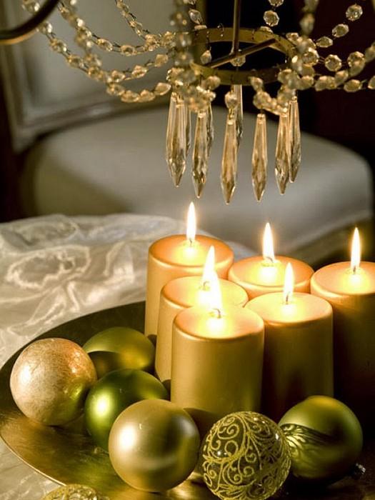 Атмосферный декор для Нового года.