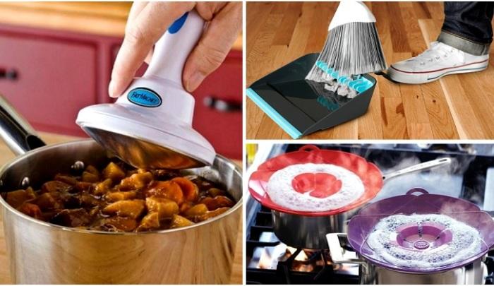 Практичные вещи, которые станут незаменимыми помощниками по хозяйству.