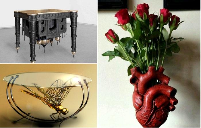 Оригинальные вещи, которые сделают дом эксклюзивным.
