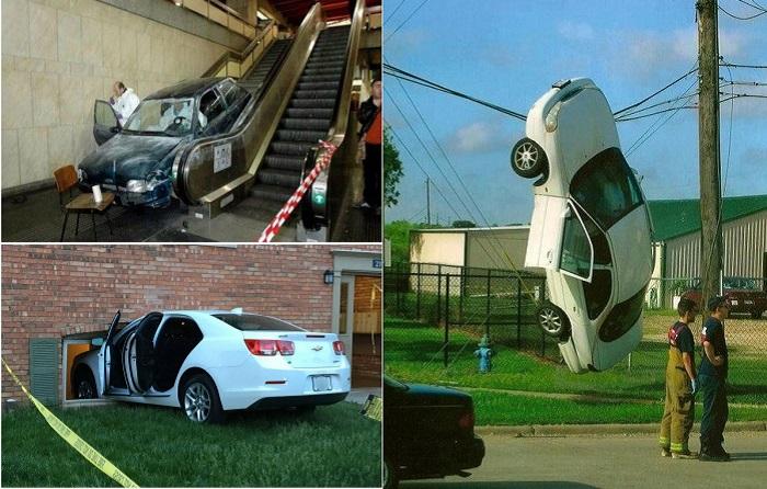 Дорожно-транспортные происшествия, которые не поддаются никаким объяснениям.