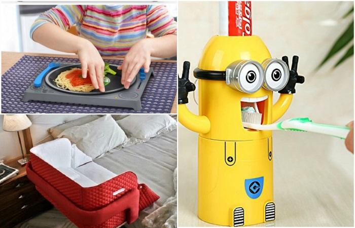 Полезные изобретения для малышей и их родителей.