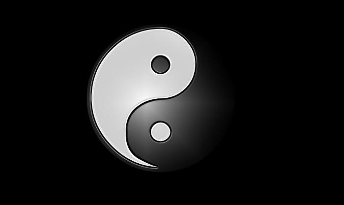 Символ бесконечного взаимодействия контрастов.