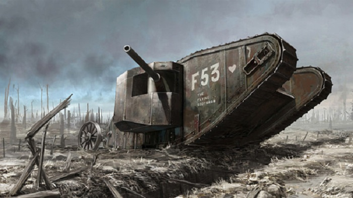 В годы Великой войны для большинства солдат танки были по-настоящему адскими машинами. | Фото: action.nova.cz.