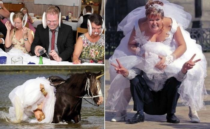Безудержные свадьбы, которые заставят смеяться до упаду.