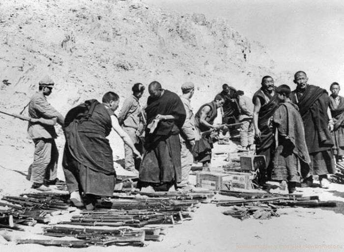 У Тибета весьма рыхлое положение в составе Китая. ¦Фото: topwar.ru.