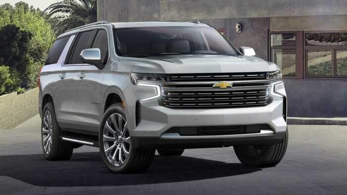 Chevrolet Suburban двенадцатого поколения – машины 2021 модельного года. | Фото: ru.motor1.com.