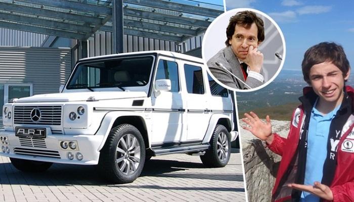 Машины, на которых колесят дети олигархов России.