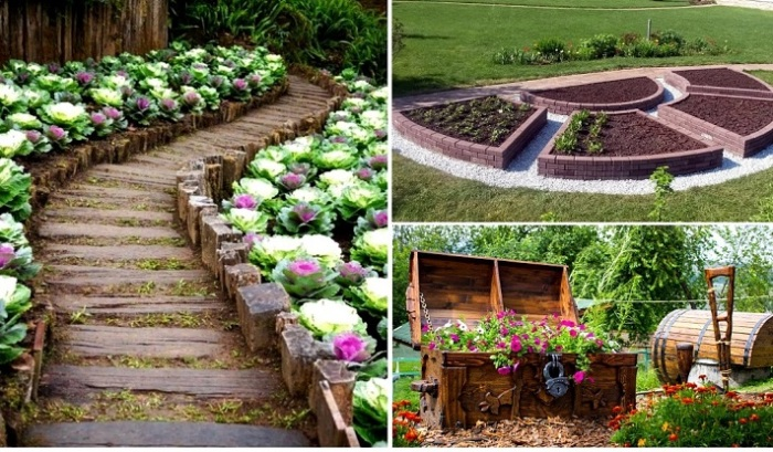 Красивые сады, которые вдохновляют на работу в своем огороде.
