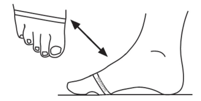 Измеряем полноту стопы. | Фото: 1.bp.blogspot.com.