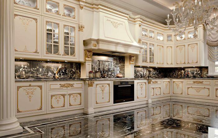 Кухня в стиле барокко.