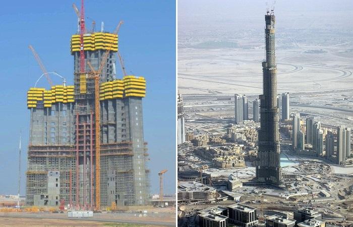 Строиться самое большое здание в мире.