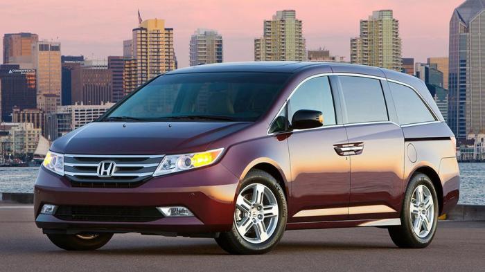 Honda Odyssey - один из самых надёжных минивэнов.