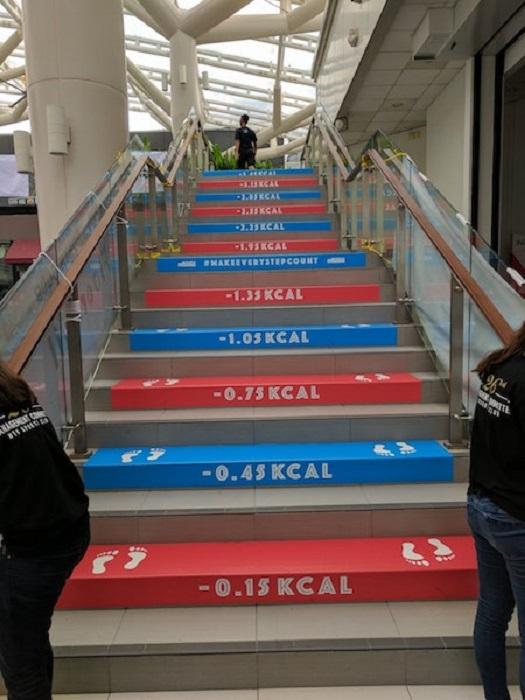 Мотивирующая лестница.
