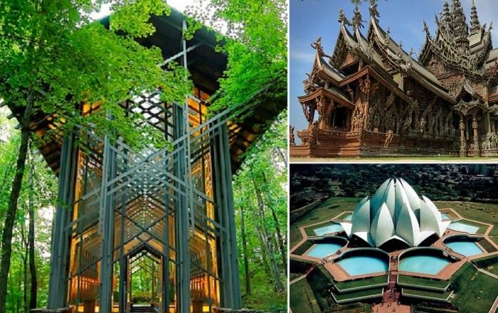 Самые величественные и необычные храмы мира.