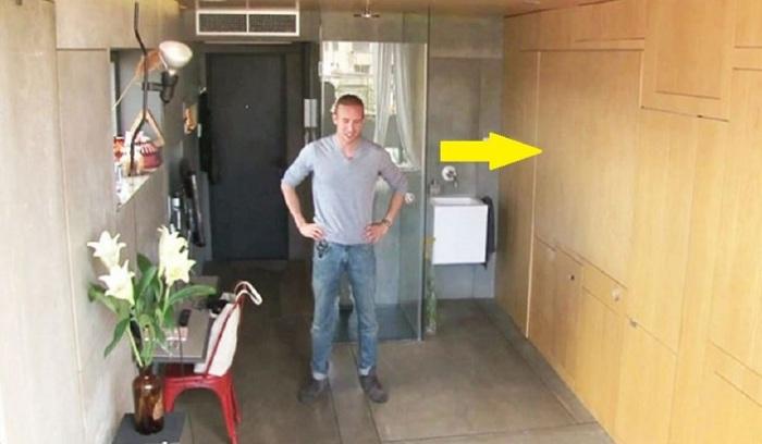 Этот парень уверен: 24 кв.м вполне достаточно для комфортной жизни.