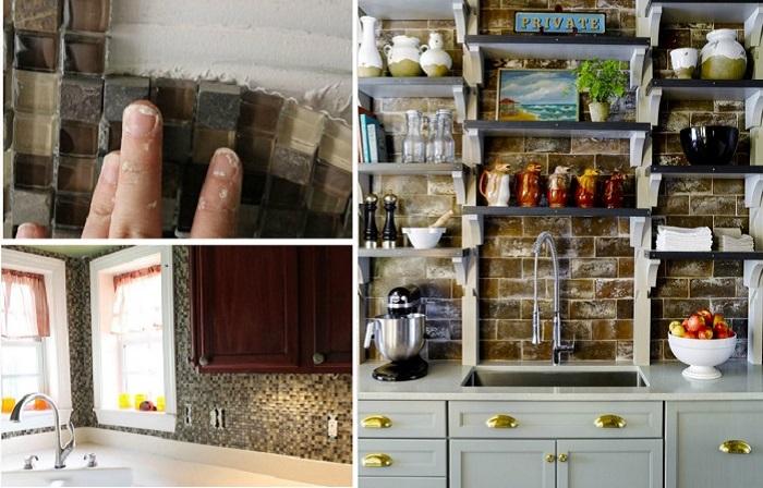 Экстраординарные идеи дизайна кухонного фартука.