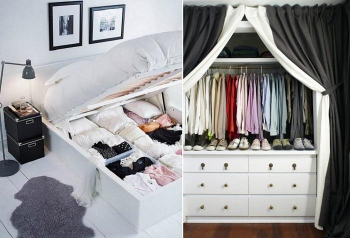 Стильные альтернативные идеи обычному платяному шкафу.