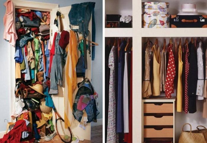 Как пережить уборку шкафа и остаться в живых?