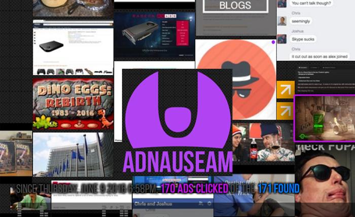 Блокировщик рекламы AdNauseam. | Фото: bitcoinist.com