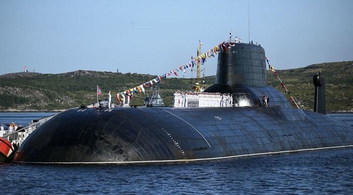 Подводная лодка проекта 941 «Акула» - ТК-208 «Дмитрий Донской». | Фото: cdn2.img.sputniknews-uz.com.