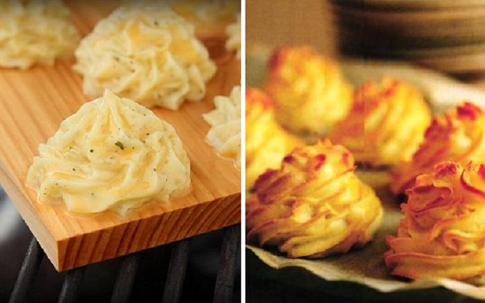 Праздничное блюдо из обычной картошки.
