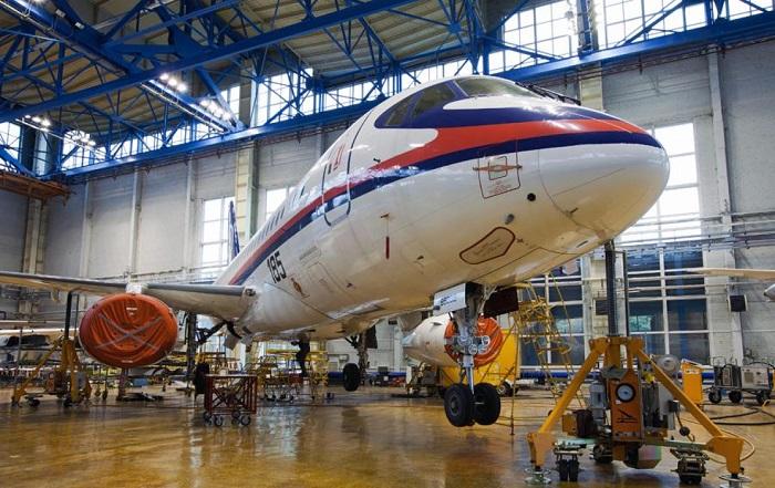 Sukhoi Superjet 100. | Фото: todaykhv.ru.