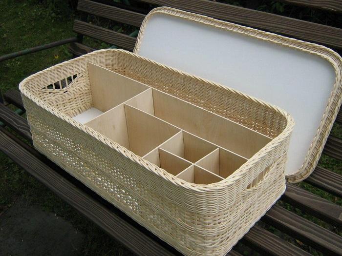 Секции в корзинках – еще один вклад в эргономичность хранения. / Фото: sharkbitechallenge.com