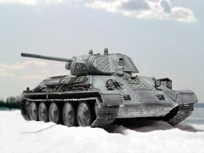 Знаменитый средний танк Т-34. | Фото: vsetanki.com.