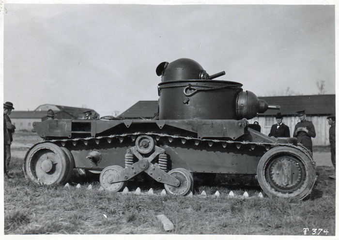 Экспериментальная машина Christie M1919. | Фото: seryj221221.livejournal.com.