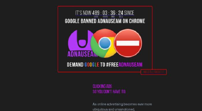 Блокировщик рекламы AdNauseam. | Фото: img.sur.ly.