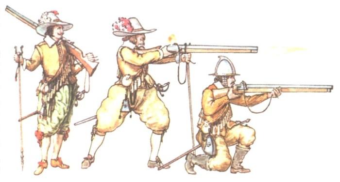 Аркебуза - прародительница стрелкового оружия.
