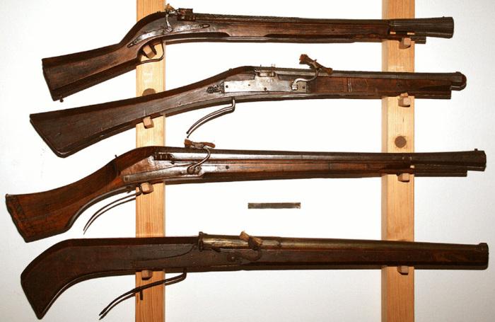 Оружие прошлого.
